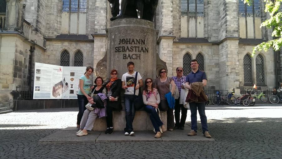 Uczestnicy spotkania w Lipsku