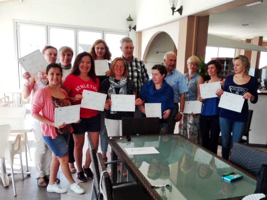 Szkolenie na Cyprze - kwiecień 2016
