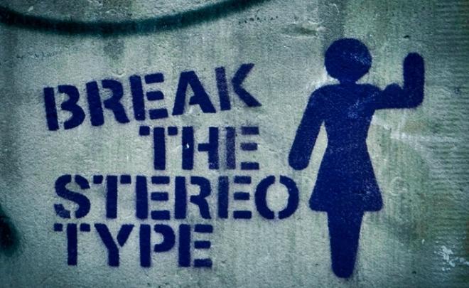 break the stereotype