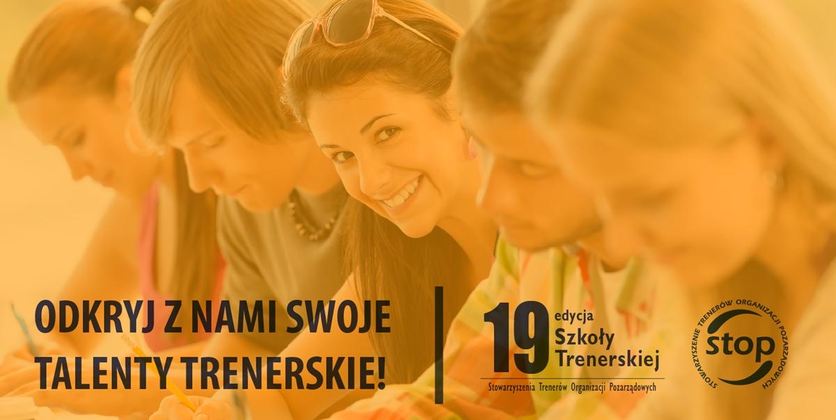 Baner - 19 Szkoła - Odkryj z nami swoje talenty trenerskie!