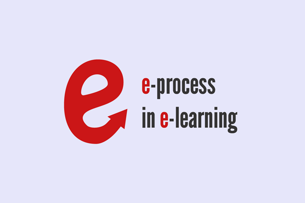 Logo projektu E-process in e-learning