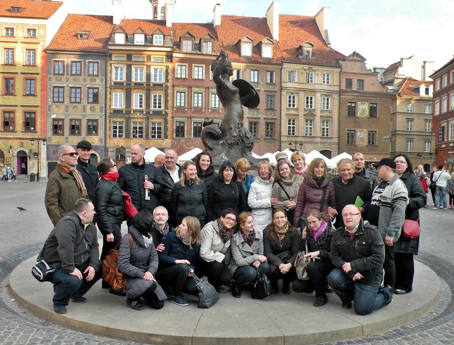 Uczestnicy spotkania w Warszawie - kwiecień 2014