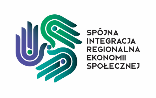 Logo Spójna integracja regionalna ekonomii społecznej