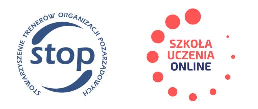 Logo Stowarzyszenie STOP i Szkoła Uczenia Online